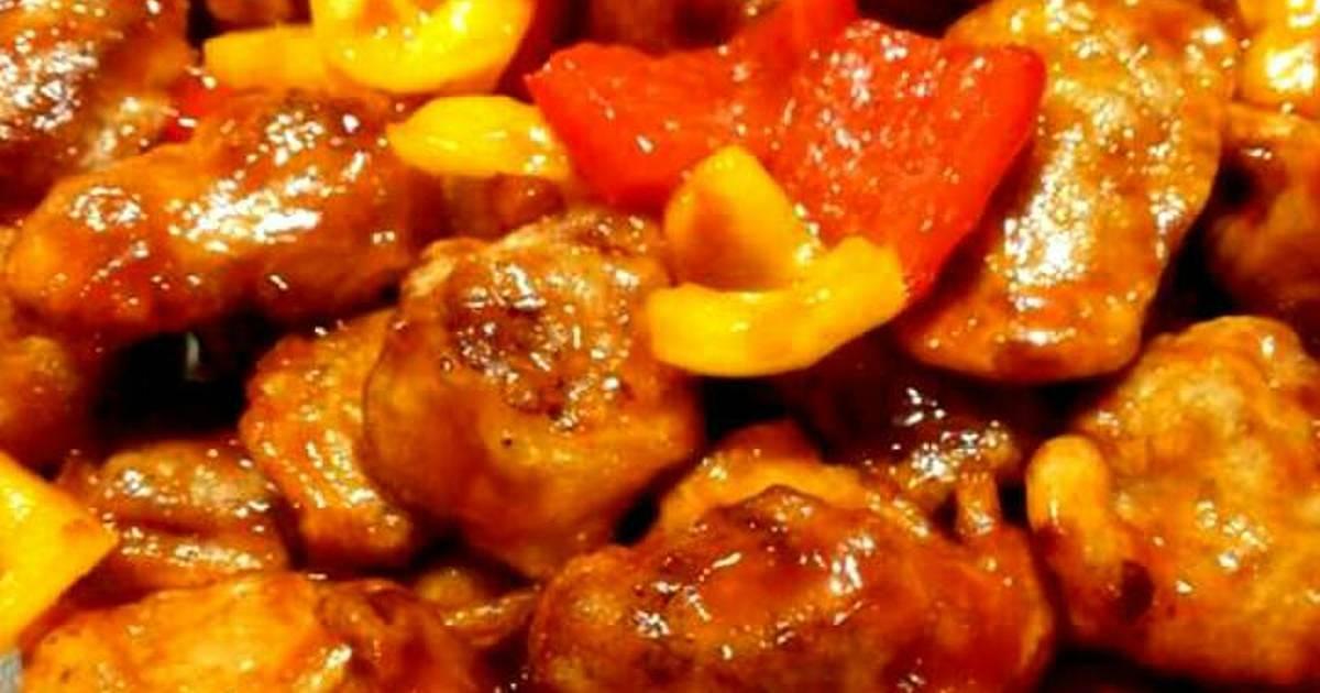 8 resep babi nanas enak dan sederhana   cookpad