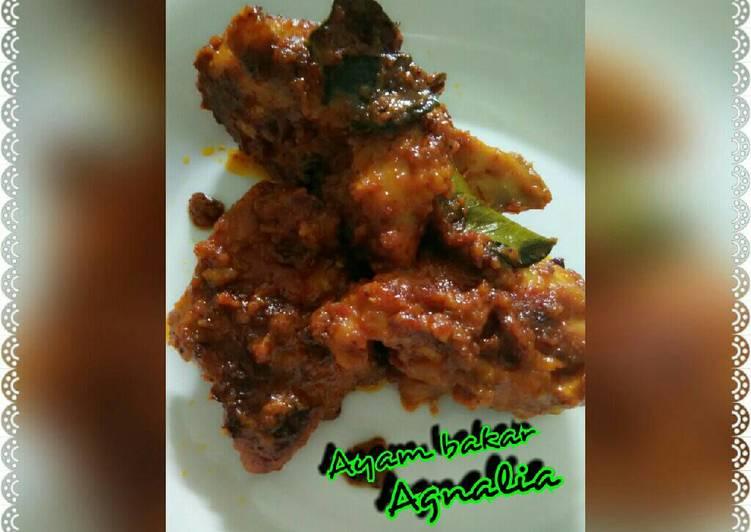 Resep Ayam bakar teflon By Agnalia Hasbi