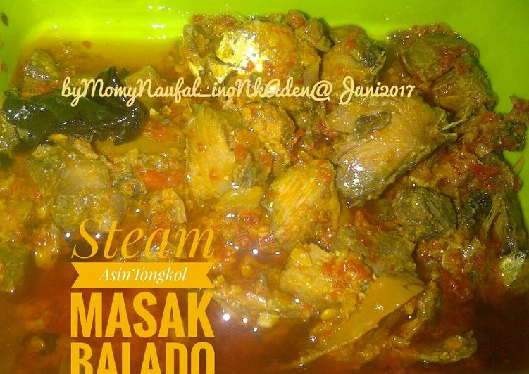 Steam Asin Tongkol Masak Balado