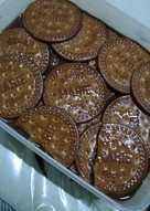 Puding marie coklat