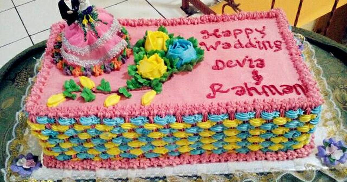 Wedding Cake Sederhana