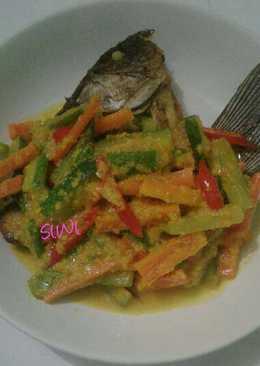 Ikan Gurame Siram Acar Kuning