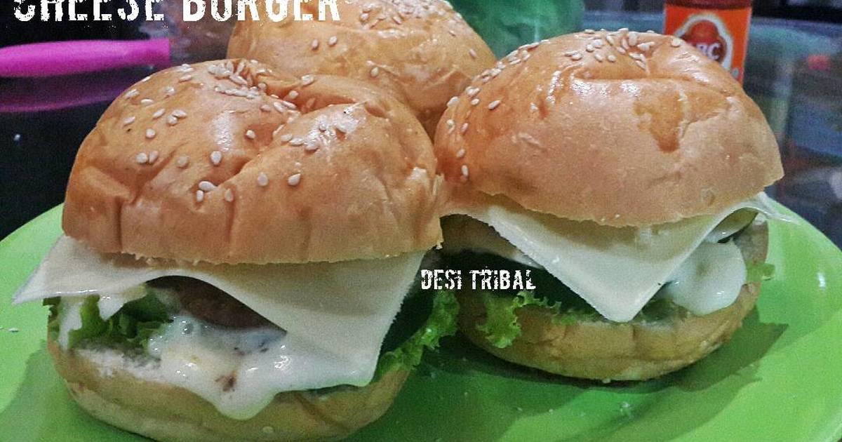 72 resep homemade keju hamburger enak dan sederhana   cookpad