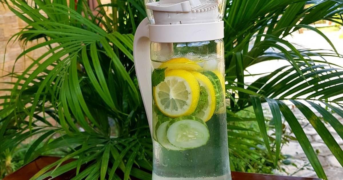 Infused Water Jeruk Nipis Dan Timun