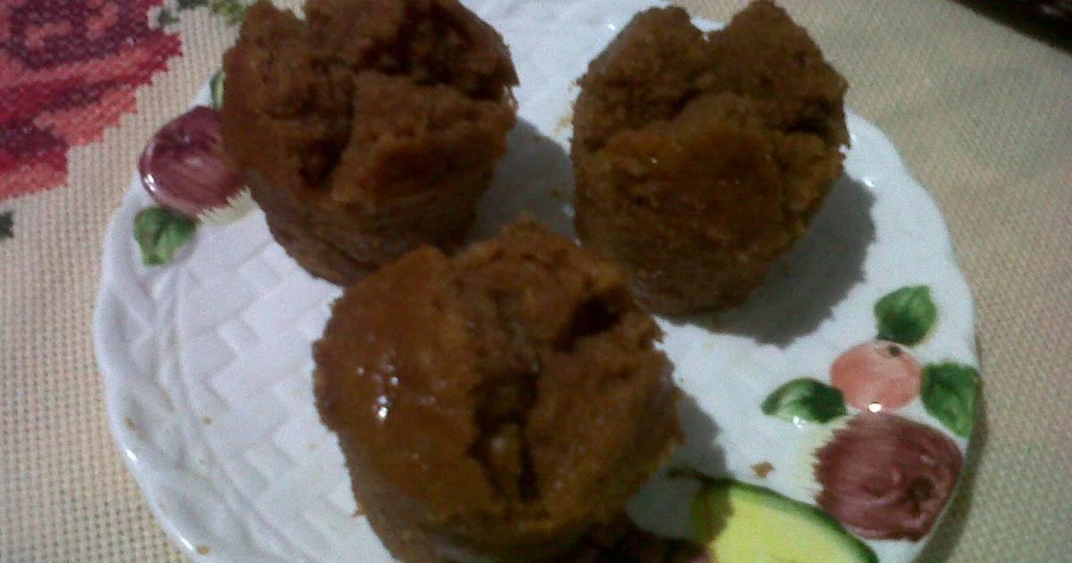 resep bolu kukus karamel tanpa telur oleh trienza ririn