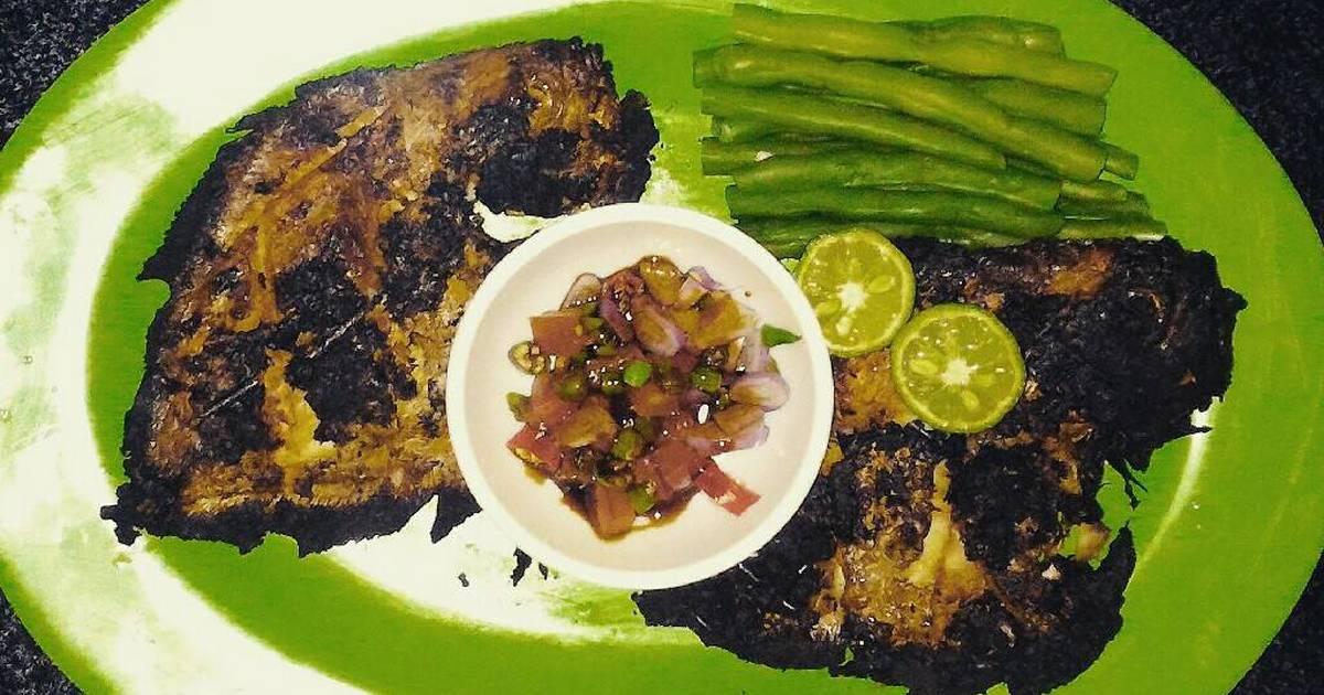 241 resep ikan bawal bakar enak dan sederhana - cookpad Minyak Kembar Kemiri Bakar