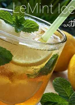 LeMint Iced Tea with Honey