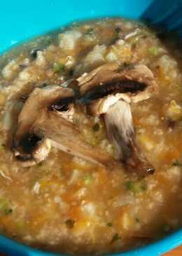 Sup jamur ikan dori