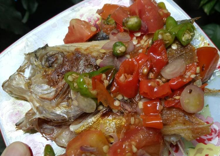 Ikan Bawal Dabu-Dabu #BikinRamadhanBerkesan 1