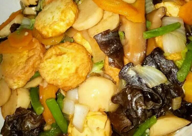 Sapo Tahu ala chinese restaurant