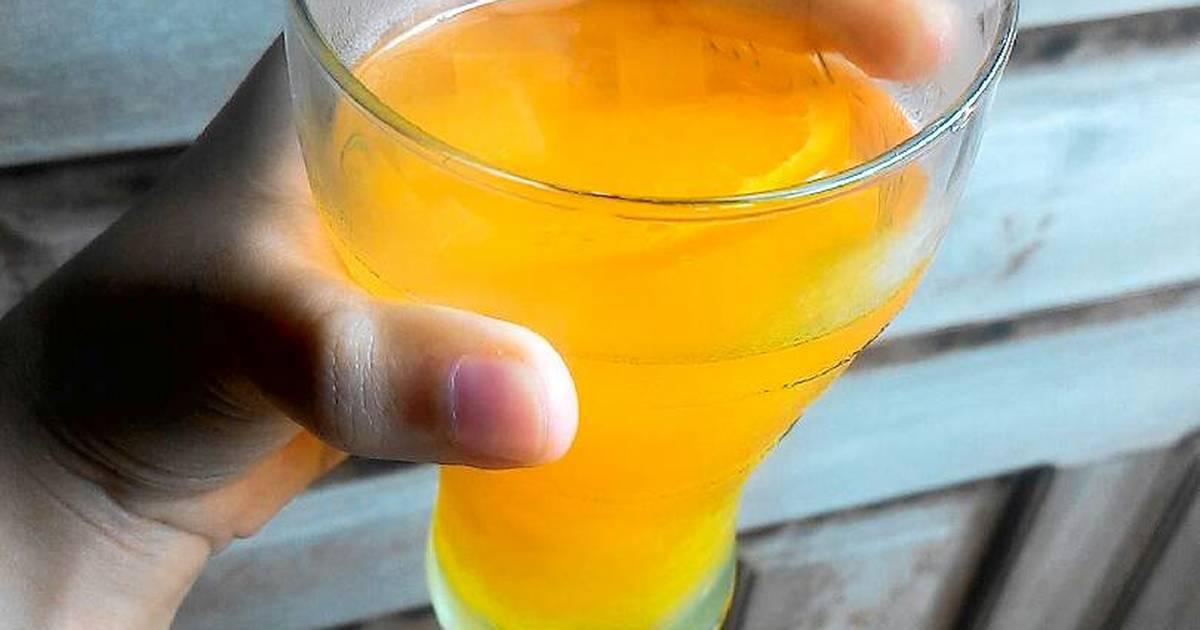 Resep Orange Squash Nata de Coco