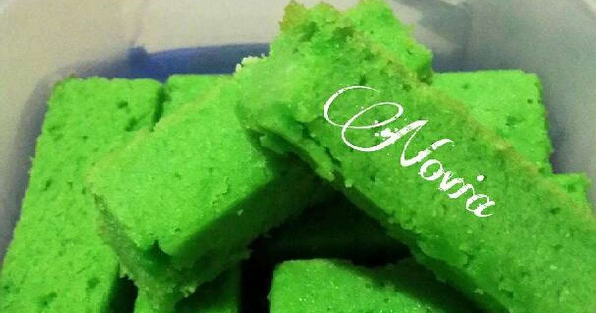 Resep Pound Cake Pandan