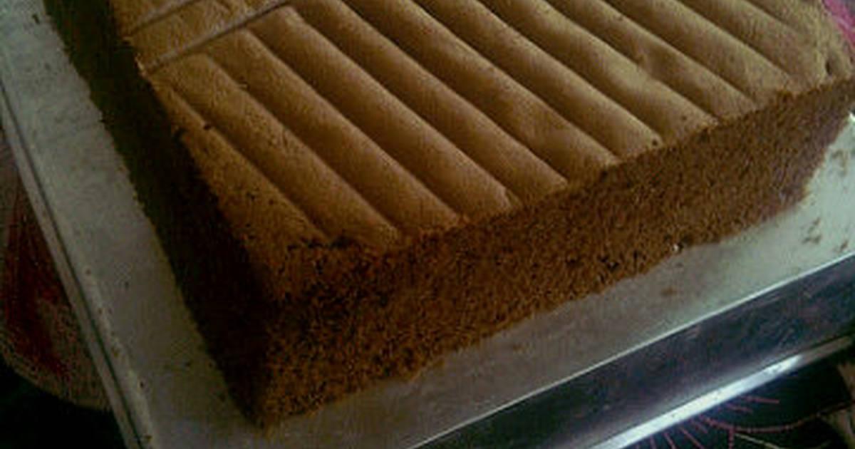 Resep Sponge Cake Jepang: Resep Sponge Cake Coklat Lembut Irit Oleh Kheyla's Kitchen
