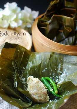 Gadon Ayam/daging kukus santan (postingrame2_masakanbersantan)