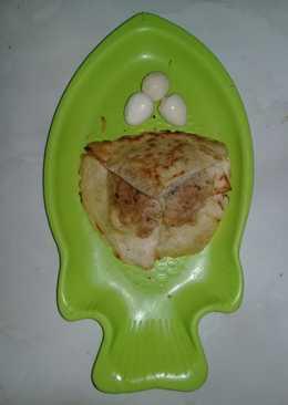Mini Kebab isi MiLur (Mie teLur) MiSis (Mie soSis)