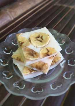 Puding susu pisang