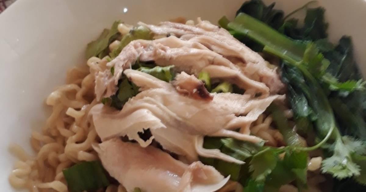 resep bubur ayam ala chinese random ladys Resepi Bubur Kanji Ayam Enak dan Mudah