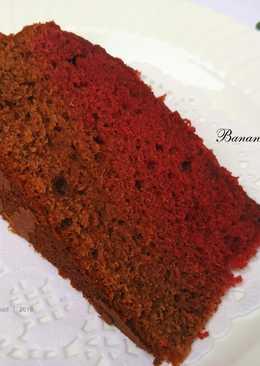 Banana Red Velvet Cake