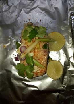 Ikan Gindara Kukus