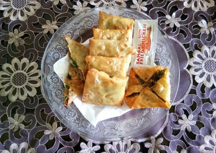 Resep Matabak daging mini home made oleh Amilatul Lailiyah Resep Matabak daging mini home made - Amilatul Lailiyah