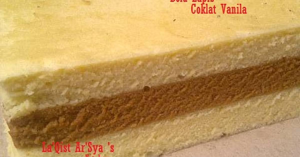 Resep Bolu Lapis Coklat Vanila