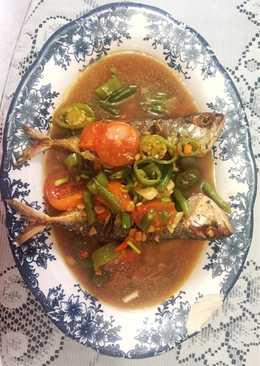 Ikan Kembung Goreng Saus Tauco