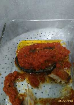 Ikan tenggiri steak cut disiram sambal tomat