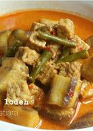 Sayur Lodeh (Terong, Tempe, Kacang panjang)