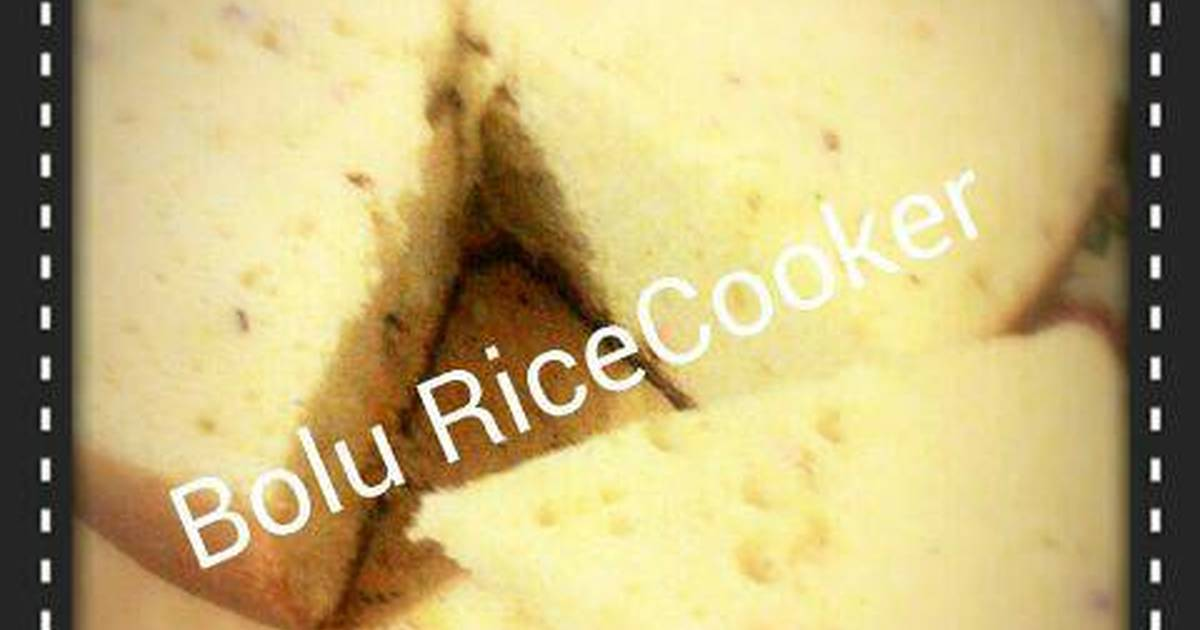 Resep Bolu ricecooker/magicom (IT'S SO SIMPLE!)