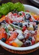Salad buah & sayur
