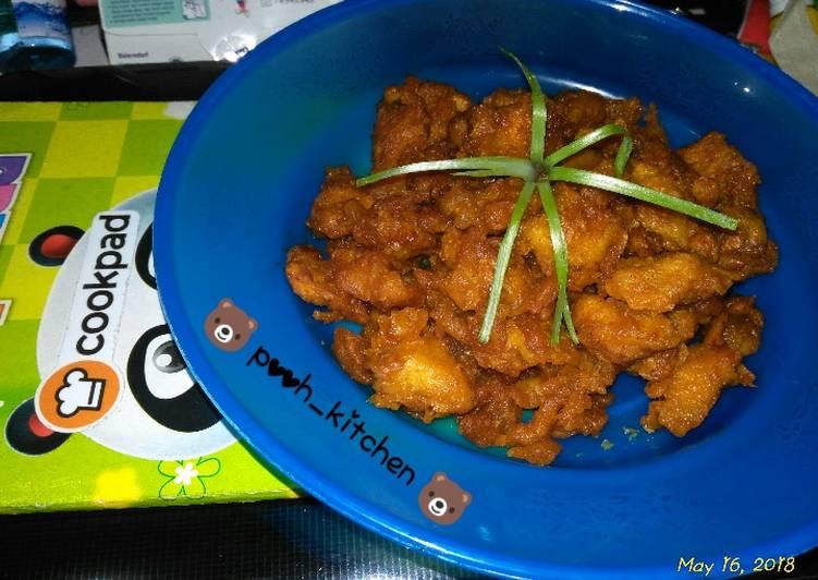 3. Korean chicken pop fillet