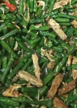 Tumis Kacang Panjang Tempe