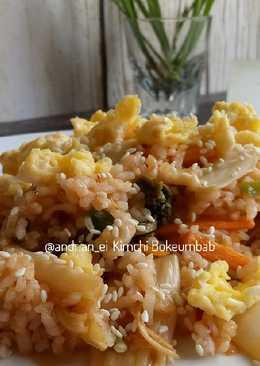 Kimchi Bokeumbab (Nasi Goreng Kimchi) #pr_BukanNasiBiasa