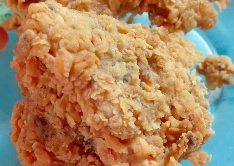 Resep Ayam goreng tepung keriting kriuk awet tidak keras cara guampang oleh Kembar Rachman Resep Ayam goreng tepung keriting kriuk awet tidak keras cara guampang- Kembar Rachmandaru