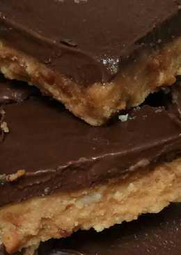 No Bake Peanut Butter Chocolate Bar Anti Gagal