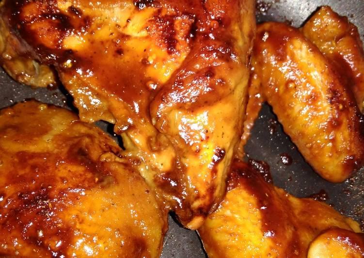 Resep Ayam bakar panggang teflon Vaganza Oleh Anindya Nino Roshiha