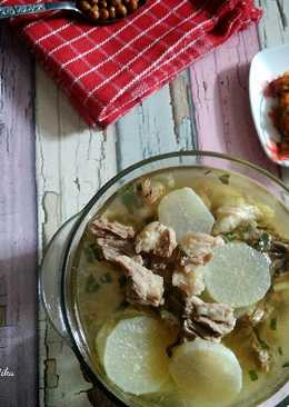 Soto Bandung / Soto Daging Sapi & Lobak