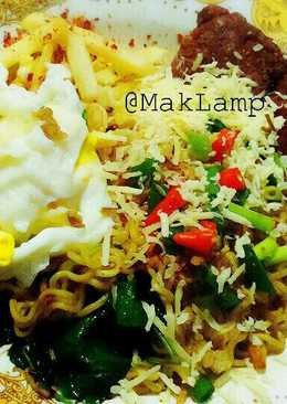 Internet (Indomie goreng, Telur, kornet, keju)