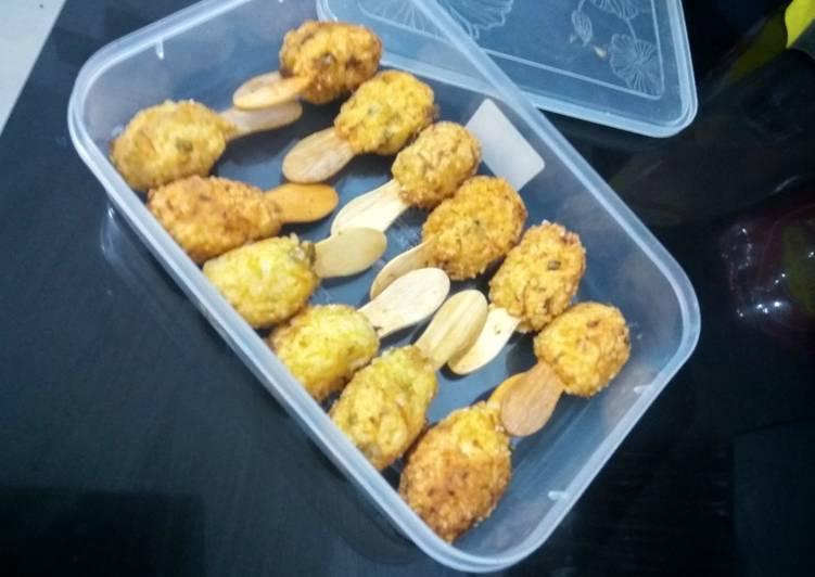 Stick Nasi Solusi Buat Anak Susah Makan