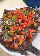 Ikan dabu-dabu (masakan rumahan sederhana)