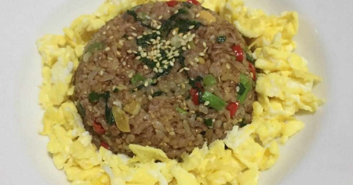 Resep Nasi Goreng Beras Merah untuk Diet oleh Siti Khaliza ...