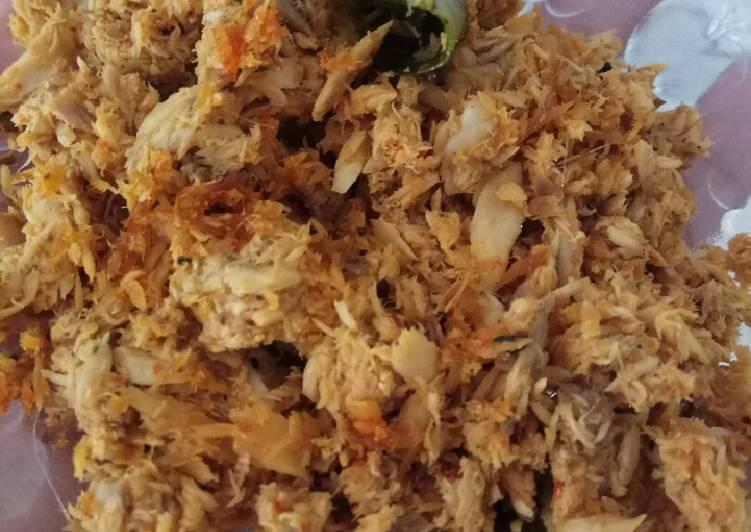 Resep Tongkol Suwir Pedas - Dapur Manda