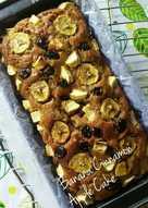 Banana Cinnamon Apple Cake