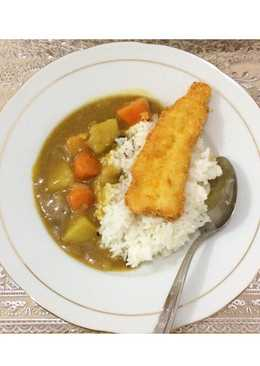 Fish Katsu with Curry Rice