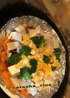 Tim ikan dori,tofu,telur kuah jahe (tanpa msg)