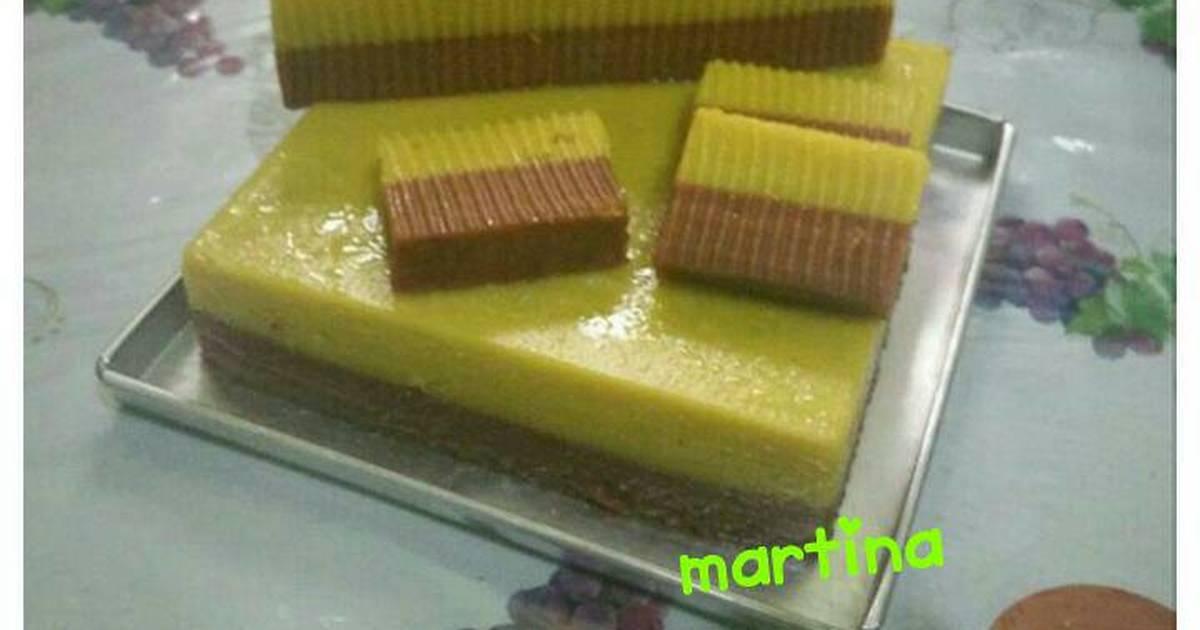 Resep Cake Kukus Labu Kuning Lapis Coklat: 1.164 Resep