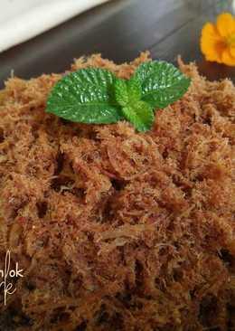 ABON AYAM yummy.. recomended... enaaak bingits #SelasaBisa