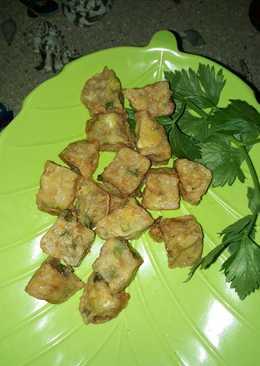 Udang tofu goreng