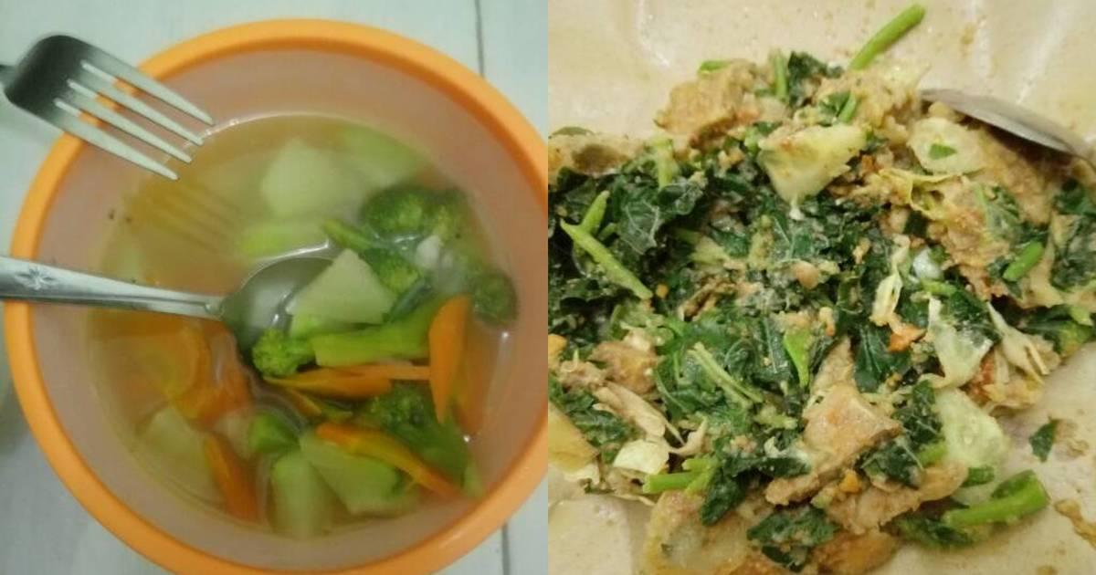 Resep Diet Mayo – Day 5&12 – Dinner Sup Daging Bayam