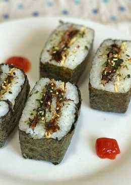 Onigirazu/おにぎりらず(Isi Telur Dadar & Ham Ayam)